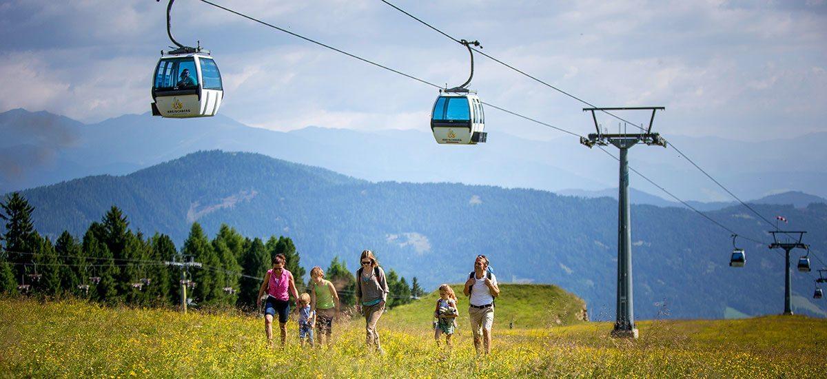 Kreischberg - Ausflugsziel im Urlaub im Murtal