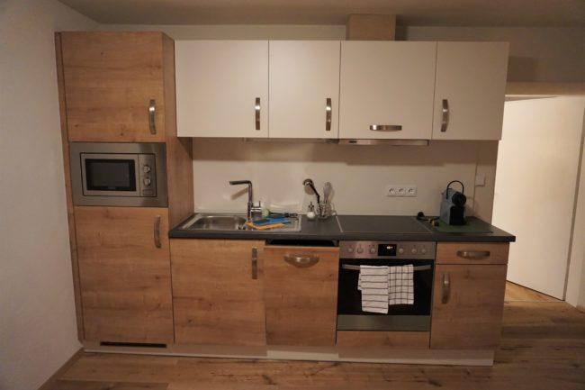 Küche Ferienwohnung Wasser Kreischberg