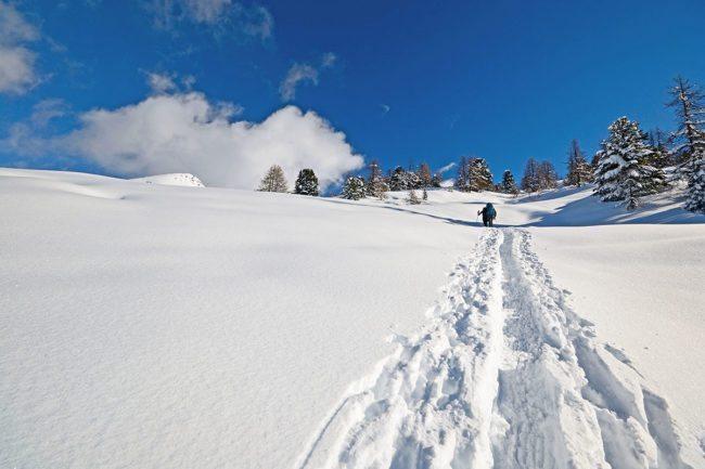 Skitouren - Winterurlaub am Kreischberg, Steiermark