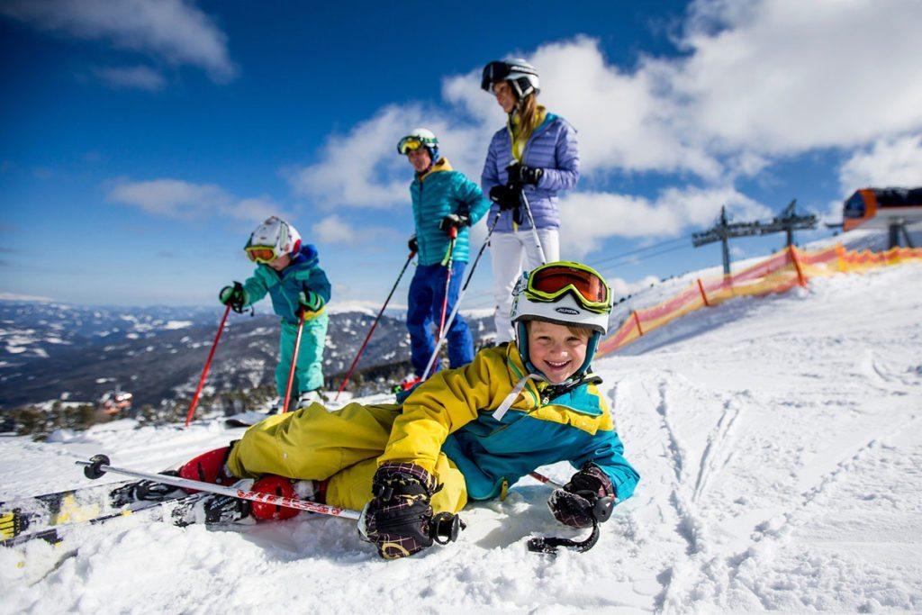 Winter Skiurlaub Am Kreischberg In Der Steiermark