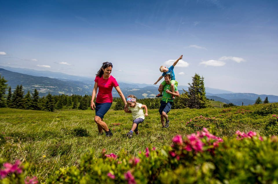 Sommer im Murtal - Familie Wandern - Vitalhof Rohrer