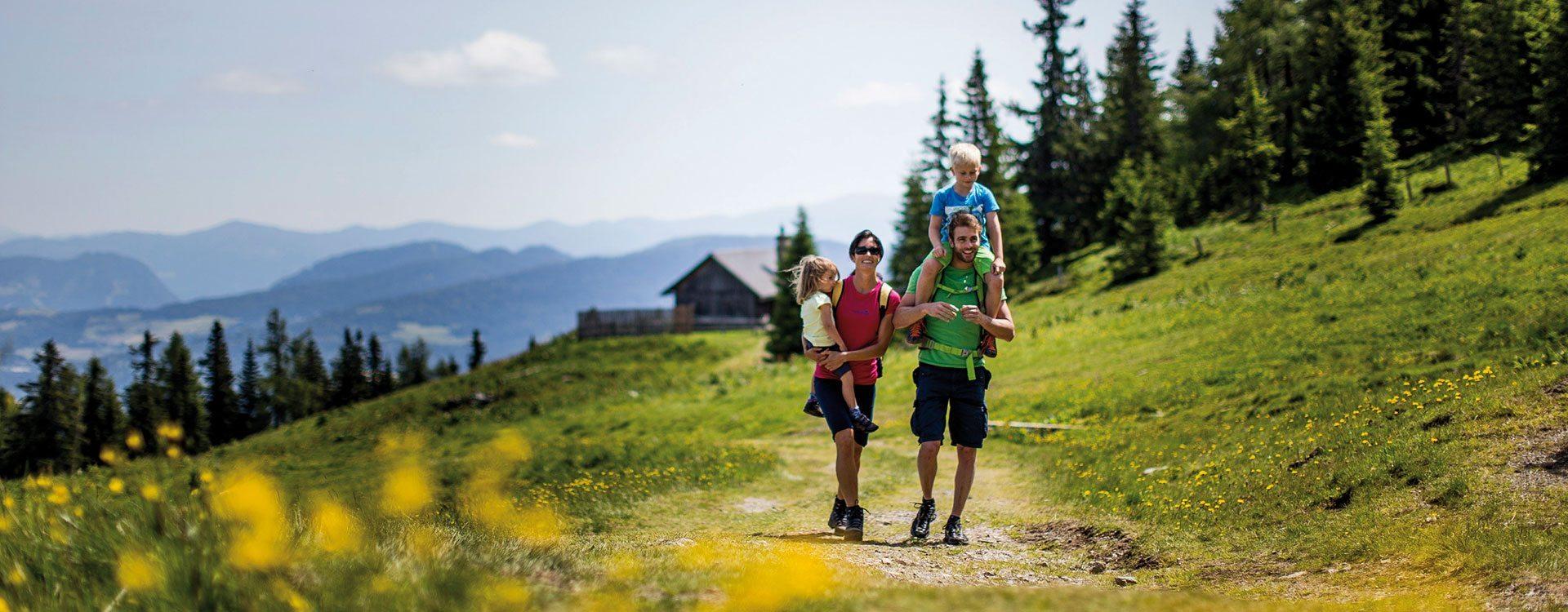 Sommerurlaub in der Region Murtal-Kreischberg, Steiermark