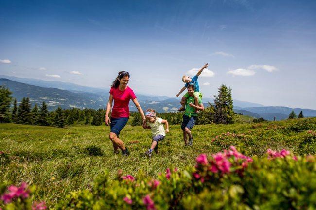 Wandern - Sommerurlaub in der Region Murau-Kreischberg, Steiermark